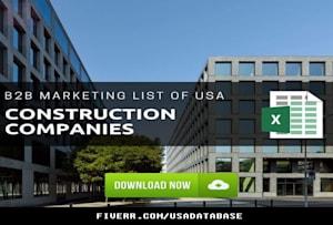 Fiverr / Search Results for 'usa company list'