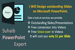 Powerpoint Design - Presentation Designer Services | Fiverr