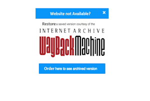 Fiverr / Search Results for 'wayback machine'