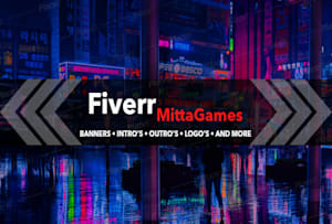 Custom Video Intro and Outro services (youtube intro)   Fiverr