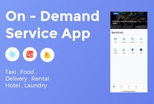 I will create uber for laundry app