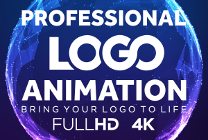 Logo Animation Services   Get Creative Animated Logo Design