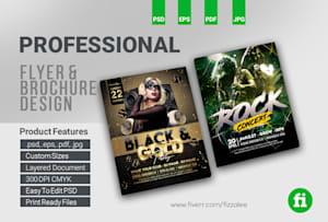 Flyer Design Services by Freelance Flyer Designers | Fiverr