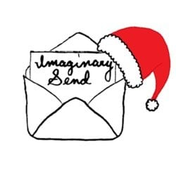 Send a copy of my handwritten letter from santa poem in one of 3 online imaginarysend spiritdancerdesigns Images