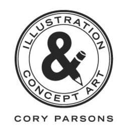 draw a 10 min sketch of any animal or creature, Cory Parsons Style