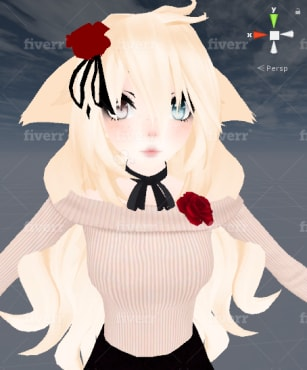 make you a custom vrchat avatar