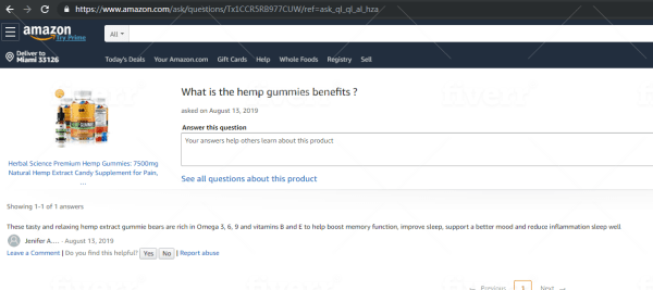 do amazon questions and answers for your product listing