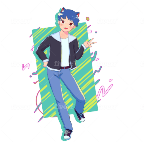 Draw You In Retro Anime Aesthetic Style By Marqueeadam