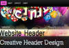 design Website Header, Banners For You, Only Web Site Headers and Banners