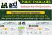 give you NEW Addmefast Points Increaser Software for Windows