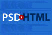slice and convert PSD to html with w3c valid code