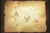 draw your fantasy treasure maps