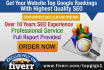 get your website top Google rankings with highest quality SEO