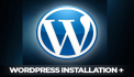 install and setup Wordpress on your host in 24 hours