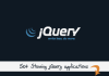 fix any Jquery Bugs and implement Jquery