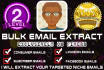 extract Niche Targeted Email List