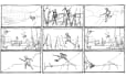 draw storyboard for film animation and commercial