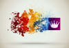 create your logo reveal awesome colorful clean particle style intro video intro