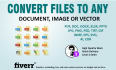 convert your files to any Image or Vector