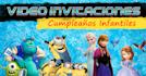 create birthday video invitation