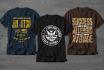 create a crisp T shirt design for you