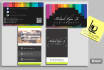 design an amazing and attractive business card for you