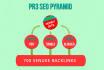 create a PR3 contextual seo Pyramid