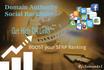 build Domain Authority Social Backlinks