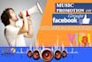 give 150 Active Music Promo FB Groups