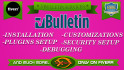 install vBulletin forum and customize it professionally