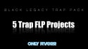 send you 5 bangin trap beat FLP projects