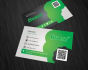design business card and do 3 realistic mockups