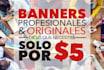 make an original and professional banner