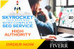 skyrocket your RANKINGS with Exclusive Seo, Backlinks for Website and Youtube