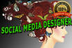 make Stunning Cover and Header for Social Media