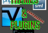install theme or plugins on your forum