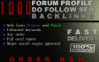 create 1000 forum profile,dofollow SEO backlinks