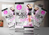 design eye catching events flyer