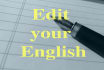 edit your English document