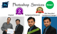 retouch your pictures in Photoshop within 24 hours