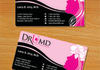design a competitive Business Card front and back