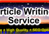 write 500 words high quality keyword rich article on any niche