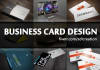 create your double sided business card