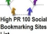 promote your blogs/website over 100 Social Bookmarking Sites with High PR and Ping