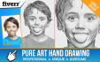 do pure realistic Art Hand Drawing