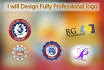 design Fully Professional Logo