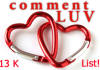 send you my awesome fresh list of over 13000 comment luv blogs where you can leave your backlink