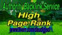 creat manually 45 PR9 to PR6 Backlinks in seo