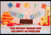 make you a cute BIRTHDAY video to send to a friend