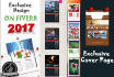 design new year calendar 2017